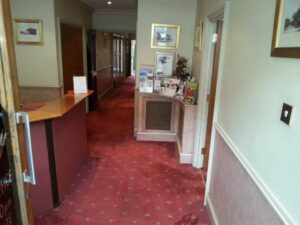 Office Entrance Carpet Cleaning